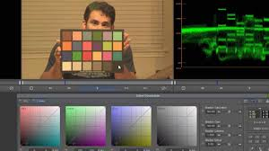 Using The Mcbeth Color Chart To Color Grade Video
