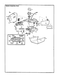 Wiring diagram for garage door opener to astounding new white at