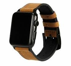 father s day leather band for apple watch 42mm 44mm strap series 4 3 2 1 wrist
