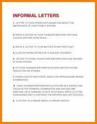 letter writing topic informal letter writing topics tomlaverty net