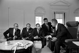 lbj oval office. Martin Luther King, Jr. (3rd From Left), With Roy Wilkins, Lbj Oval Office