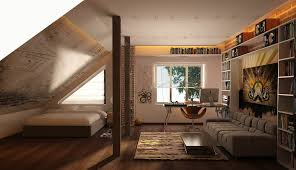 Attic Bedroom Bedroom Attic Rooms With Slanted Ceilings Small Attic Spaces
