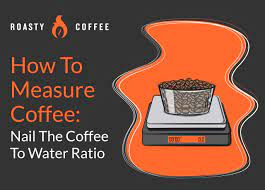A standard coffee measure should be 2 tbsp. Coffee To Water Ratio Calculator How To Measure Coffee Perfectly