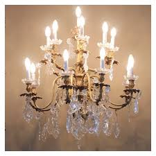 how to clean a gold plated chandelier
