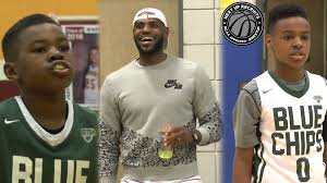 lebron james son playing basketball at home. Wonderful Son LeBron James Cheers On Sons To Buckeye Prep Championship Bryce U0026 Bronny  BALL OUT In Columbus  YouTube For Lebron Son Playing Basketball At Home