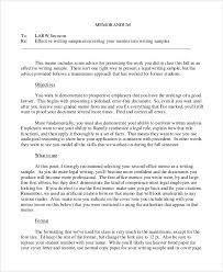Sample Memo 9 Examples In Word Pdf