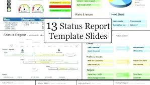 Program Management Status Report Template