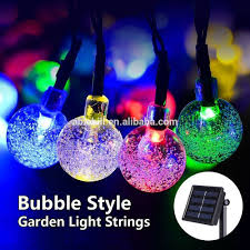 Outdoor Solar Powered Bubble Ball Waterproof Lights Led Christmas Lights String Buy Lights Led Christmas Lights String Product On Alibaba Com
