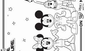 Kleurplaat Mickey Mouse Luxe Minnie Mouse Birthday Coloring Pages
