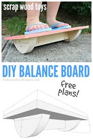 that s my letter diy balance board with free plans