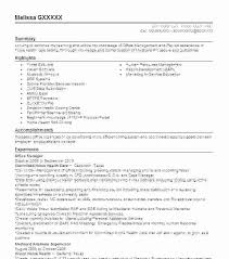 Chiropractic Resume Classy Front Office Manager Resume Template Desk Sample Of Examples