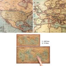 The Wall Chart Of World History Poster Details About World Map Vintage Antique Style Large Poster 100x50cm Wall Chart Picture Chz