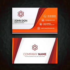 Free Download Cards Business Card Templae Business Card Template Vector Free Download