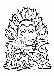 Small Picture Coloring Pages Minion Coloring Pages Cartoons Printable Coloring