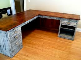 ... Diy L Shaped Computer Desks Google Search Pinterese280a6 Wood Plank Desk  Coffee Table Wood Plank Desk ...