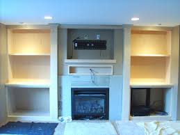 fireplace mantel with flatscreen tv maple ent ctr jpg