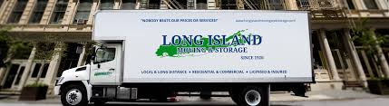 long island moving and storage. Moving Van Outside Business Throughout Long Island And Storage