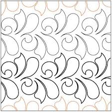 Printable Quilting Stencils | site search | quilting | Pinterest ... & Ambrosia quilting pantograph pattern by Lorien Quilting Adamdwight.com