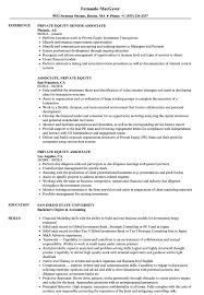 Accounting Associate Resume Private Equity Associate Resume Samples Velvet Jobs 21