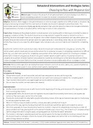 intervention for students who refuse to do work or act out to intervention for students who refuse to do work or act out to avoid certain types of