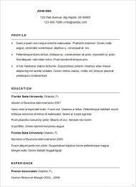 Resume Example Simple Helpful Quintessence Job Examples Sample De 9 ...