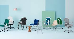 Industrial Office Design Fascinating Herman Miller Modern Furniture For The Office And Home