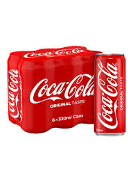 Coca Cola Light 235 Ml Shop Coca Cola Regular Soft Drink Cans 330 Ml Pack Of 6 Online In Dubai Abu Dhabi And All Uae