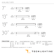unilume led direct wire undercabinet by tech lighting