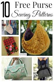 Purse Sewing Patterns Cool Here Are 48 Free Purse Sewing Patterns That Are Perfect For Making A