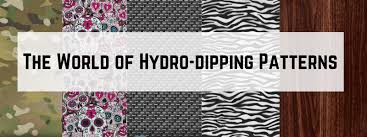 Hydro Dipping Patterns Extraordinary The World Of Hydrodipping Patterns Tactical Graphics LLC