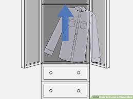 image titled install a closet rod step 5