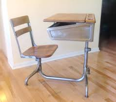school desk chair combo. Modren School School Desk Industrial Steel And Wood Deskchair Combo With Folding Desk And Chair  Combo Intended Chair S
