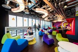 google hq office. Cafe\u2026 Google Hq Office