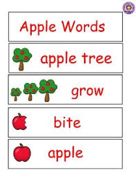 Apple Tree Pocket Chart Apple Pocket Chart Words Word Wall Teachers Pay Teachers