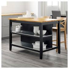 kitchen kitchen island ikea luxury stenstorp kitchen island black brown oak 126x79 cm ikea