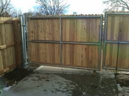 metal fence gate. Large Metal Fence Gate