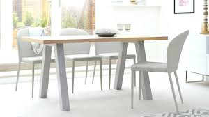 grey dining table contemporary designer oak round
