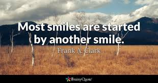 Quotes on smile Smiles Quotes BrainyQuote 72