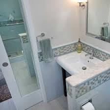 Pocket door bathroom Basement Bathroom Pocket Door With Mirror Bill Fry Construction Pocket Door Magic Electrical Switches And Outlets Near The Door