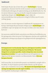 Armand Vervaecks Tweet Illegalemigratie Naar Spanje De