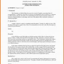 Letter Of Recommendation For A Judge Sample Character Letter Of Recommendation To Judge Archives School