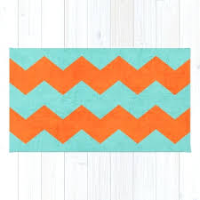 teal orange rug chevron teal and orange rug teal and orange round rug