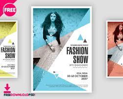 Design Flyer App Latest Fashion Show Flyer Freedownloadpsd Com