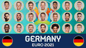 GERMANY SQUAD EURO 2021