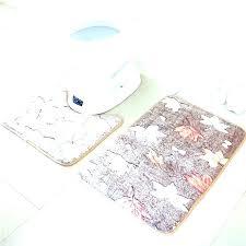grey memory foam contour bath mat rug bathroom whole toilet customized anti slip floor bat contour bath mat
