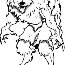 Small Picture Werewolf coloring sheet halloween werewolf coloring pages 25557