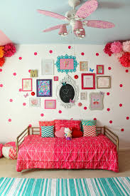 Polka Dot Bedroom Decor A Kailo Chic Life Gallery Wall Wednesday Madelines Pink Polka