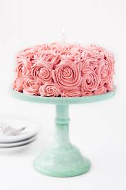 Almond Strawberry Cake With Strawberry Buttercream Broma Bakery