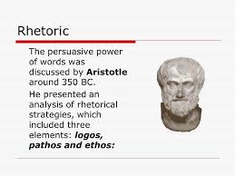 how to write a persuasive essay ppt rhetoric the persuasive power of words was discussed by aristotle around 350 bc