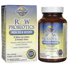 garden of liferaw probiotics men 50 wiser